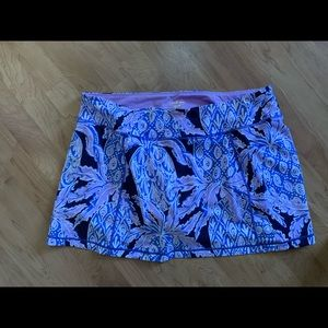XL coco safari Lilly Pulitzer Luxletic skort